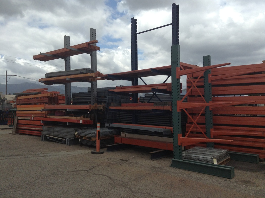 cantilever racks used warehouse pallet rack california