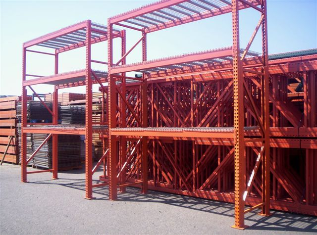 used warehouse racking 2